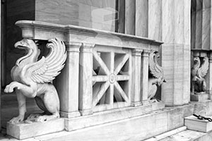 Athens Library Griffins